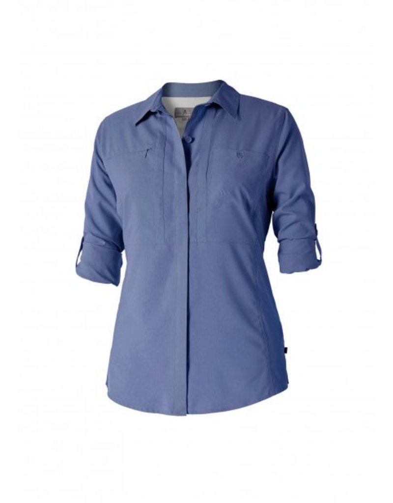 ROYAL ROBBINS 32130 BLUE 2X WOMENS SHIRT
