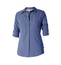ROYAL ROBBINS 32130 BLUE SMALL WOMENS SHIRT
