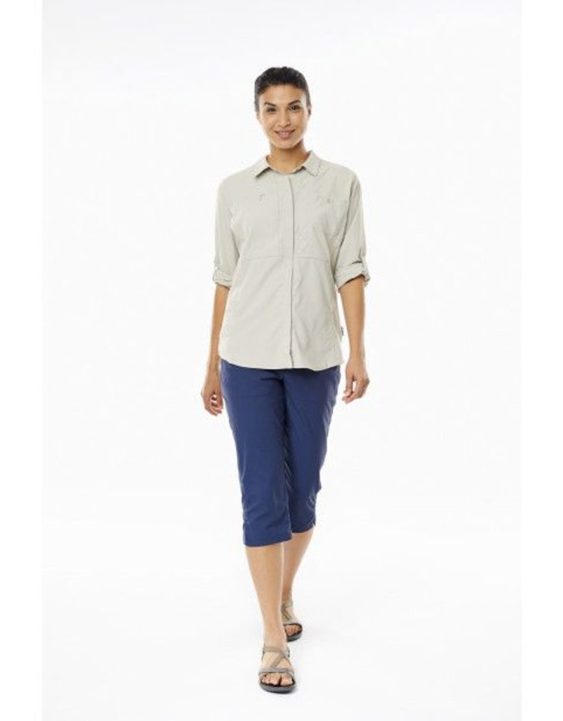 ROYAL ROBBINS 32130 WHITE 2X WOMENS SHIRT
