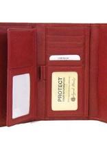 OSGOODE MARLEY 1236 BLACK RFID CHECKBOOK WALLET