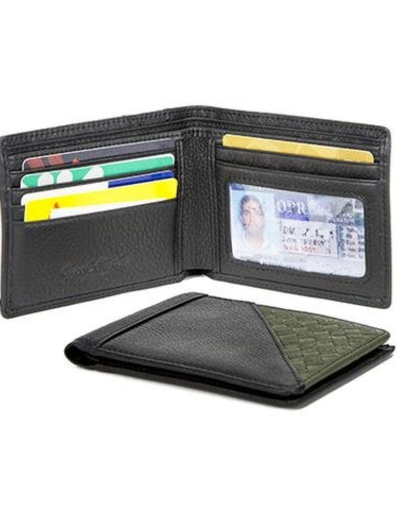 OSGOODE MARLEY 1321 RFID BLACK THINFOLD