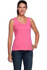 FASHION VILLAGE LTD BAMBOO TANK FUSCIA ONE SIZE BT01