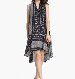 FASHION VILLAGE LTD KNITTED BUTTON UP DRESS 851A