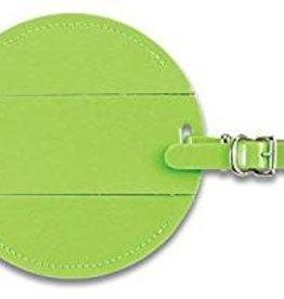 LEWIS N CLARK ID21 GREEN LUGGAGE TAG