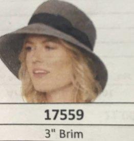 PARKHURST 17559 WHEAT PANAMA BRIM HAT