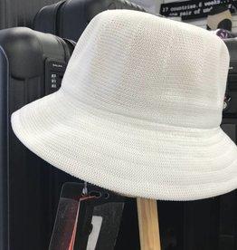 PARKHURST 17148 WHITE BERMUDA BUCKET  HAT