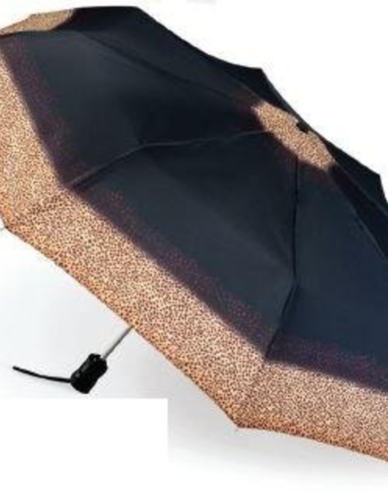 FULTON L346 LEOPARD BORDER UMBRELLA