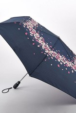 FULTON L711 FLOWERS AND STRIPE OPEN CLOSE UMBRELLA