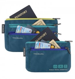 TRAVELON 43370 Currency and Passport Organizer
