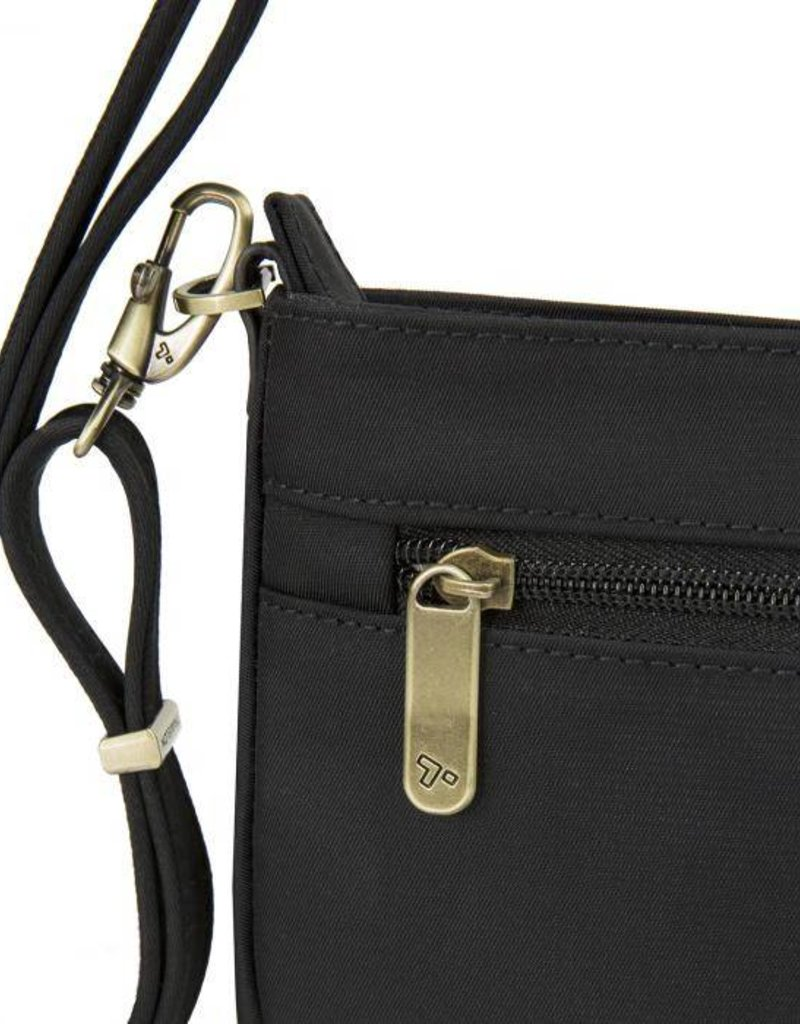 TRAVELON 43097 BLACK ANTI THEFT CROSSBODY