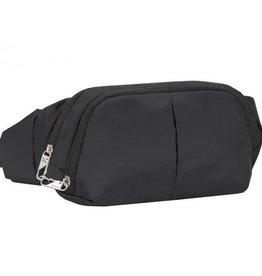 TRAVELON 42858 BLACK ANTI THEFT WAIST BAG
