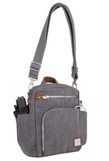 TRAVELON 33074 ANTI THEFT TOUR BAG PEWTER