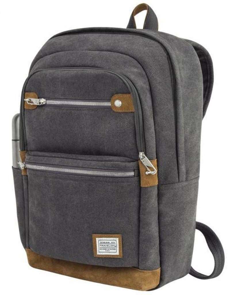 TRAVELON 33070 ANTI THEFT BACKPACK PEWTER