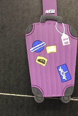 AUSTIN HOUSE AH24BS01 LUGGAGE TAG PURPLE