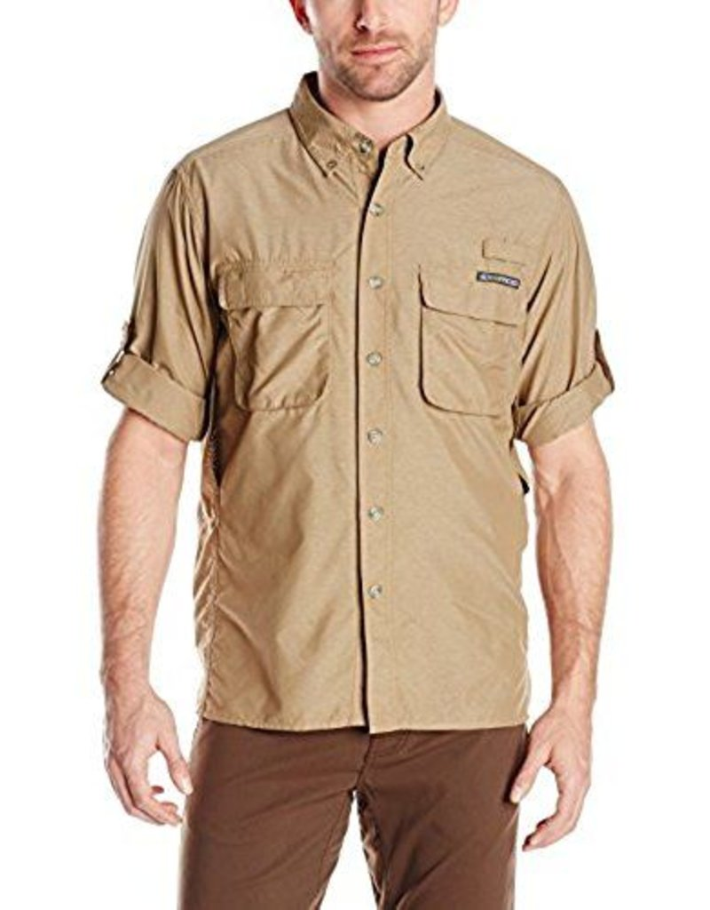 EXOFFICIO 10012035 MEDIUM WALNUT AIR STRIP MENS