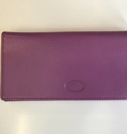 MANCINI LEATHER ORCHID LADIES LEATHER WALLET RFID