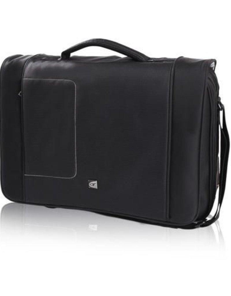 Gino Ferrari Gf1021 Brizo 17 Inch Laptop Messenger Black