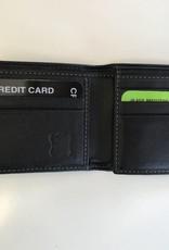 TREND 587242 BIFOLD WALLET BLACK-BLUE RFID