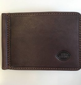 TREND MONEY CLIP WALLET BROWN RFID 917034 THE TREND
