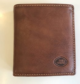 TREND BIFOLD WALLET WITH CHANGE COGNAC 917236 THE TREND