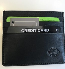 TREND CREDIT CARD WALLET BLACK RFID 917394 THE TREND
