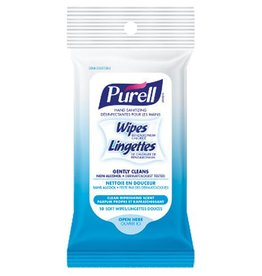 PURELL HAND SANITIZING WIPES 10PC.