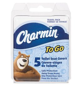 CHARMIN CHARMIN TOILET SEAT COVER 5PC