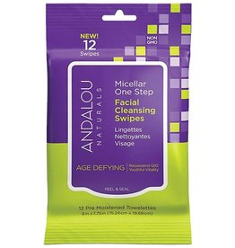 ANDALOU ANDALOU AGE DEFYING FACIAL SWIPES 10CT