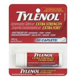 TYLENOL EX STRENGTH EZ TAB 10'S