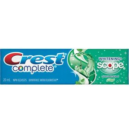 CREST COMPLETE TOOTHPASTE 20ml