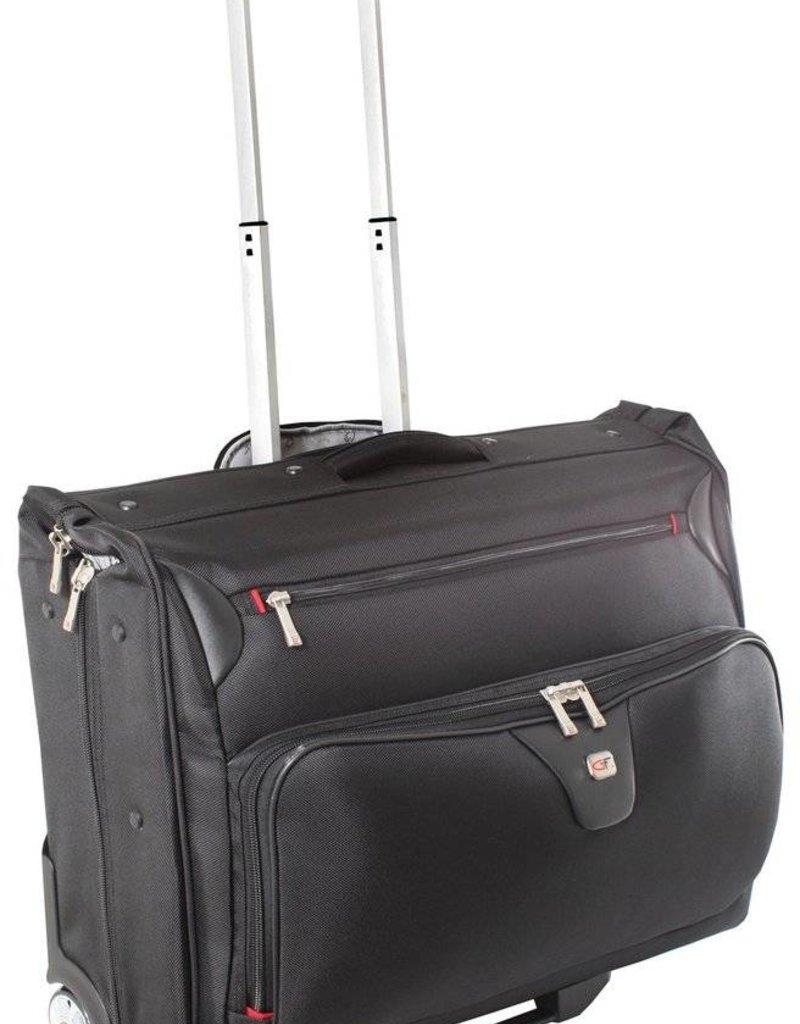 Gino Ferrari Manhatten Wheeled Garment Bag Black