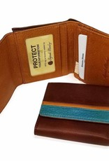 OSGOODE MARLEY 1402  RFID BRANDY  ULTRA MINI WALLET