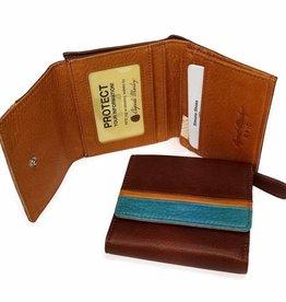 OSGOODE MARLEY 1402  RFID BRANDY  ULTRA MINI WALLET