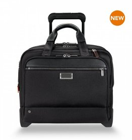 BRIGGS & RILEY KR420X-4 BLACK MEDIUM 2 WHEEL BRIEF
