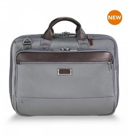 BRIGGS & RILEY KB422-10 GREY MEDIUM BRIEF