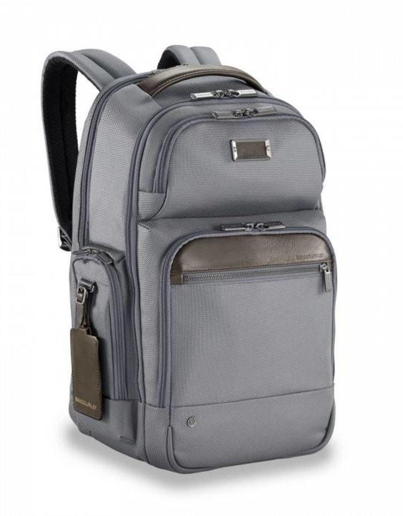 BRIGGS & RILEY KP426-10 GREY MEDIUM CARGO BACPACK