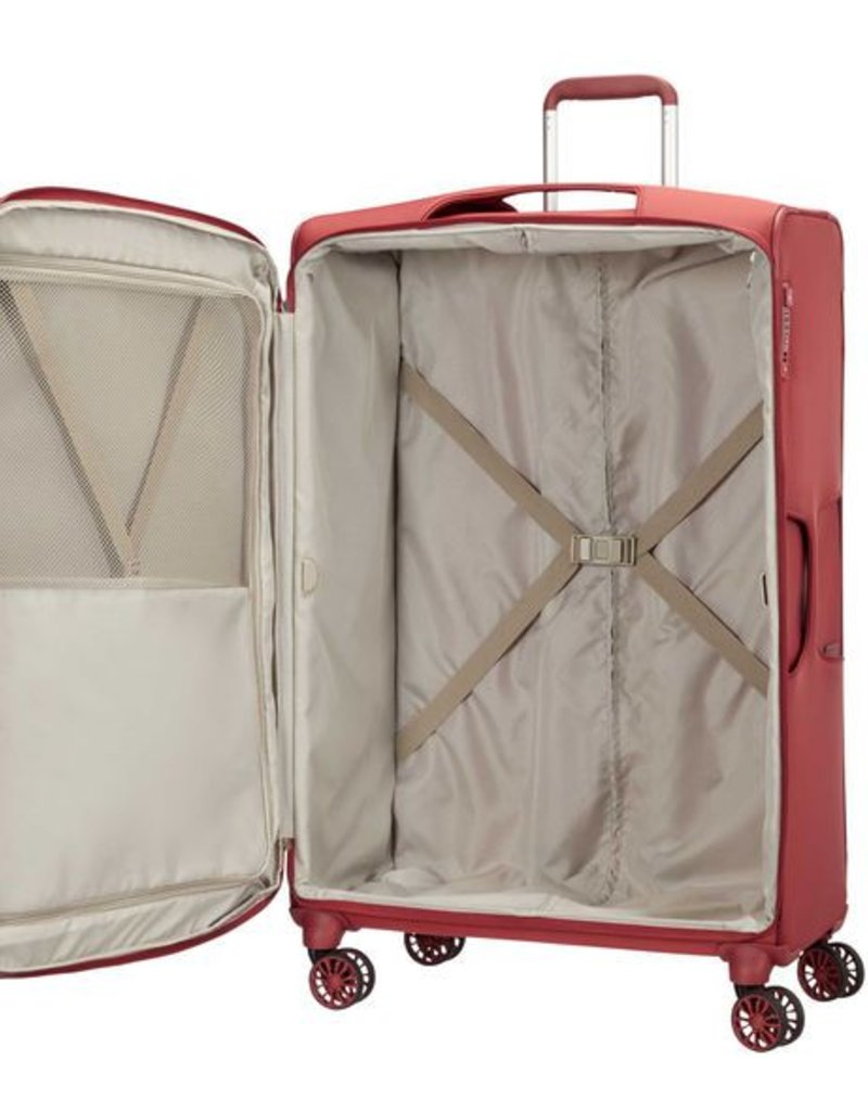 SAMSONITE 649531726 LARGE SPINNER RED  B-LITE