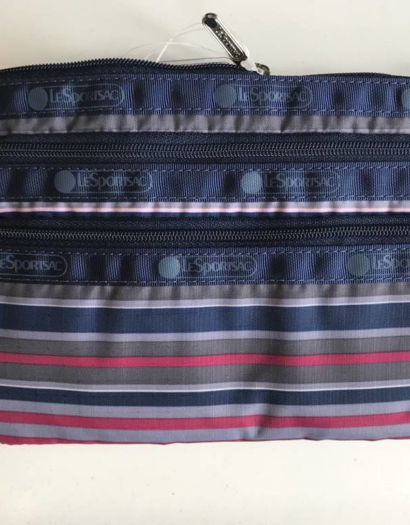 LESPORTSAC 7158 3 ZIP POUCH BARRE