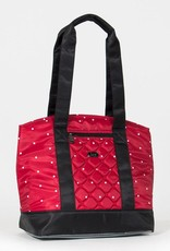 LUGLIFE SCOOTER DOT CRIMSON LUNCH TOTE