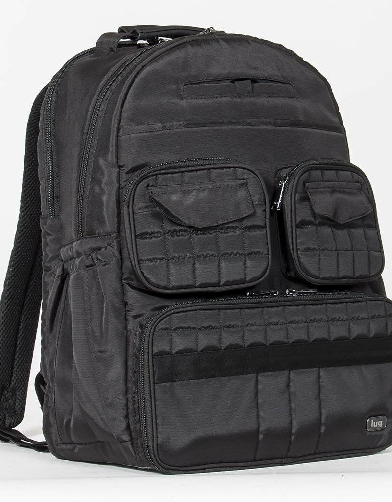 LUGLIFE PUDDLE JUMPER BACKPACK BRUSHED BLACK