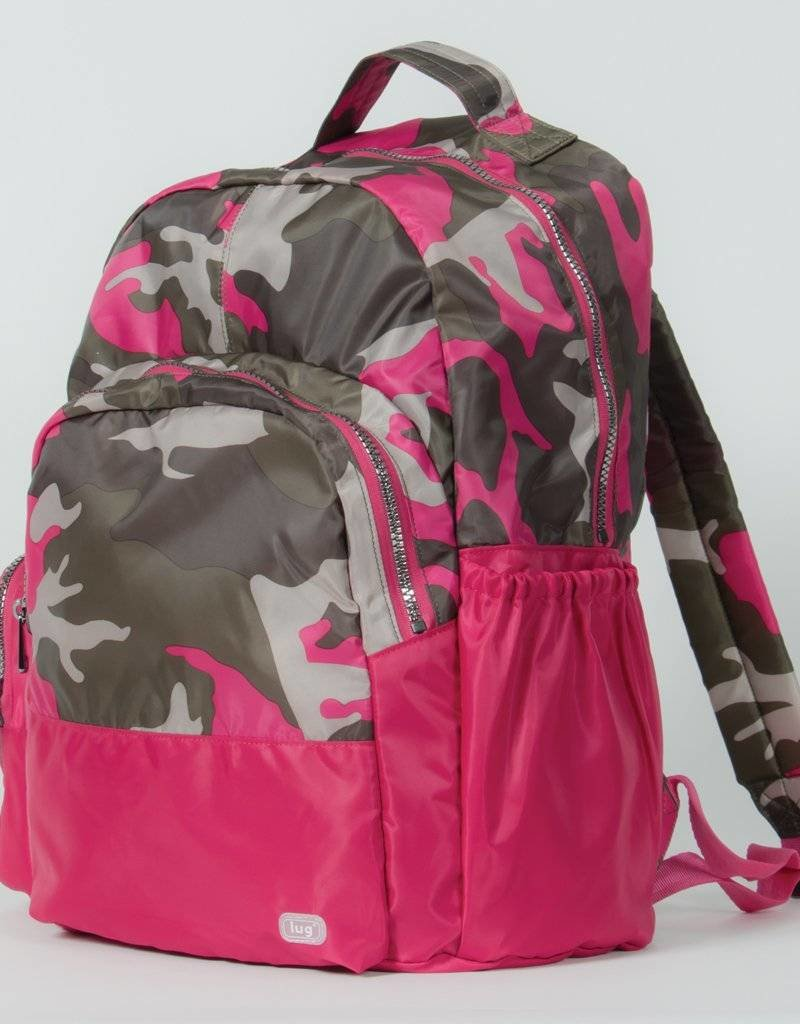 LUGLIFE ECHO PACKABLES CAMO PINK