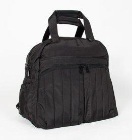 LUGLIFE BOXER OVERNIGHT BAG BRUSHED BLACK