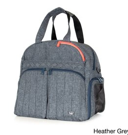 LUGLIFE BOXER HEATHER GREY OVERNIGHT BAG