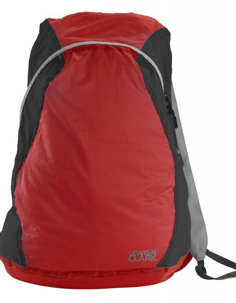 LEWIS N CLARK 1101 BACKPACK RED