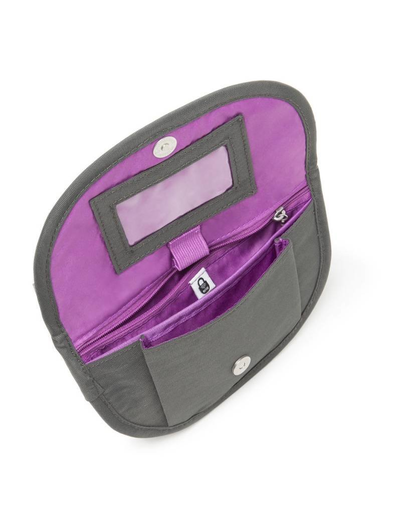 BAGGALLINI TPB330 TEENEE CHARCOAL RFID PHONE BAG