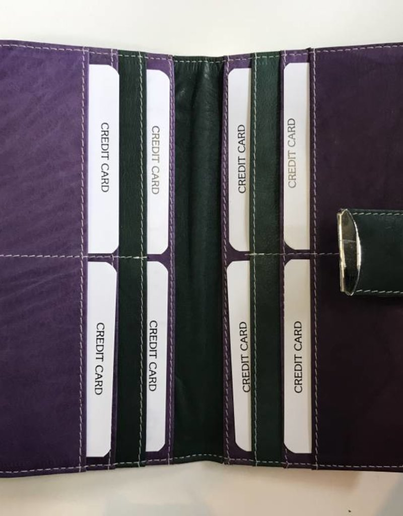EXPRESSIONS 2253 LONG WALLET PURPLE RFID