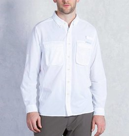EXOFFICIO 100120352 2XL WHITE AIR STRIP MENS