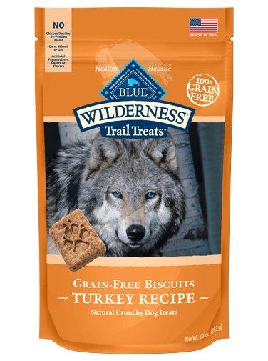 Blue Buffalo Blue Wilderness Dog Treats Turkey Chicken 10oz