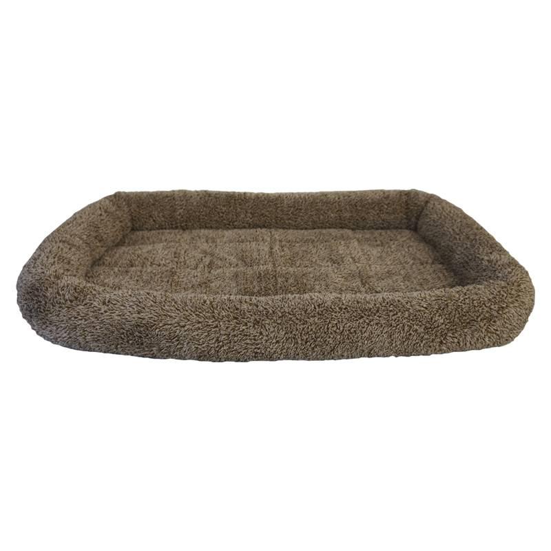 """Arlee Pet Beds Arlee Crate Pad Bolster Lucy Brown 29x22"""" x"""