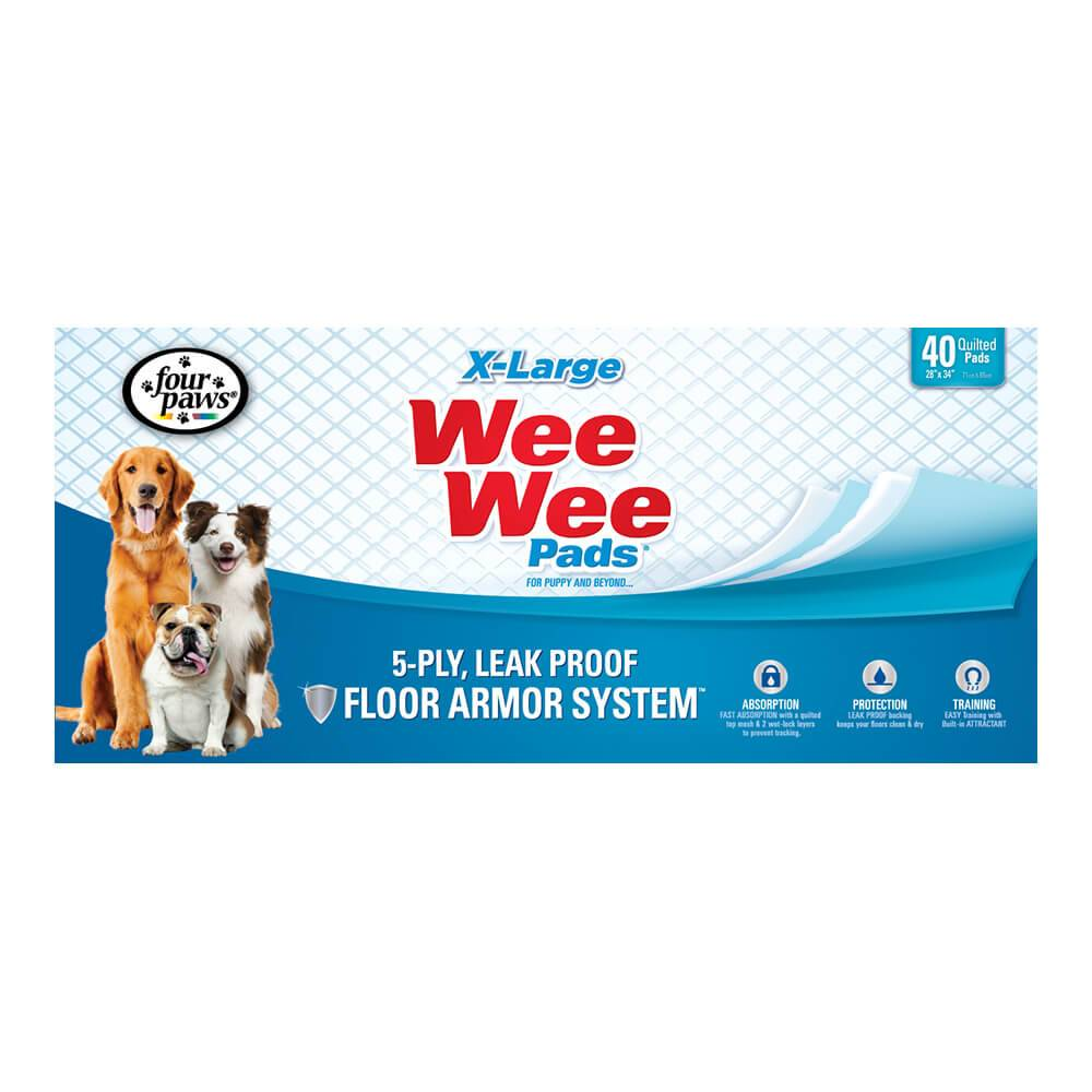 Four Paws Products Four Paws Wee Wee Pad XL 40pk